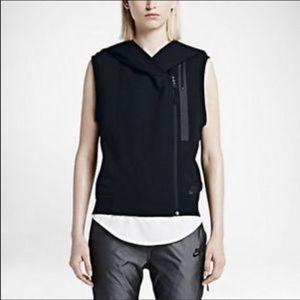 Nike vest hoodie